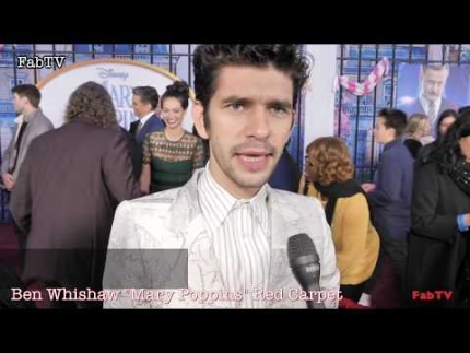 """Ben Whishaw at the """"Mary Poppins Returns""""  World Premiere..."""