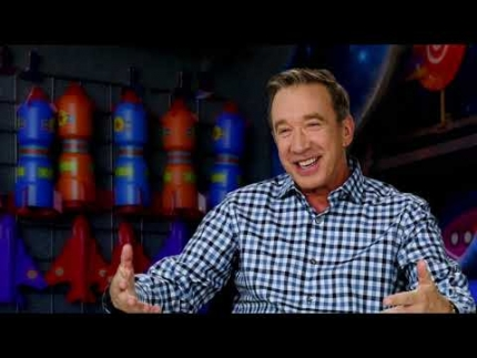 "Tim Allen is ""Buzz Lightyear"" Toy Story 4"