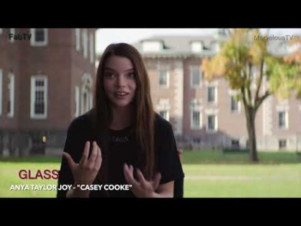 "Anya Taylor Joy - ""Casey Cooke""stars  in ""GLASS"""