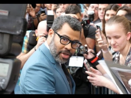 "Jordan Peele arrive at his ""US""  Red Carpet SXSW"