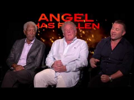 """Angel Has Fallen""  Morgan Freeman- Allan Trumbull - Nick Nolte - Ric Roman Waugh - Director -"