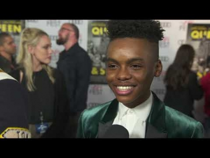 """Jahi Di'Allo Winston"" at the Queen & Slim premiere"