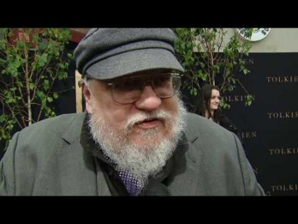 "George R.R. Martin ""Game of Thrones"" at ""TOLKIEN"" premiere"