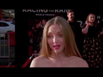 "Amanda Seyfried at ""The Art of Racing In The Rain"" premiere"