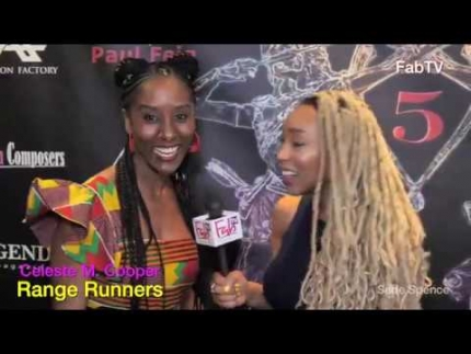 "Celeste M. Cooper arrives at the ""Range Runners"" premiere"