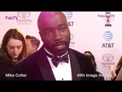 Mike Colter at the 49th Image Awards FabTV