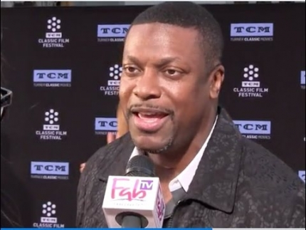 Comedian 'Chris Tucker' arrives at the 2017 TCM Classic Film Festival on FabulousTV