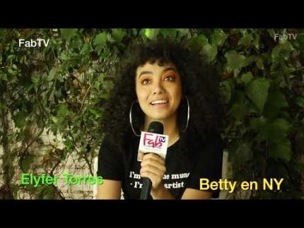 "Elyfer Torres is the new 'Betty'  in ""Betty en NY"""