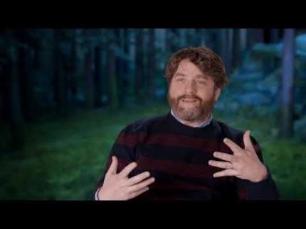 "ZACH GALIFIANAKIS  loves ""MISSING LINK"""