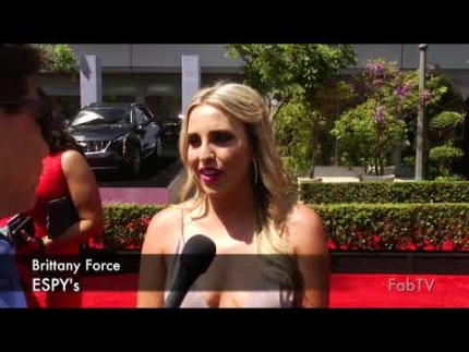 Brittany Force at 2018 ESPY's