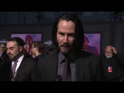 "Keanu Reeves Los Angeles red carpet for ""John Wick 3"""