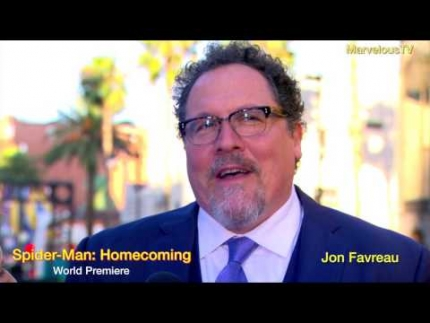 Jon Favreau arrives at Spider-Man: Homecoming world premiere