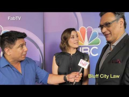 "Jimmy Smits & Cailin McGee star in ""Bluff City Law"""