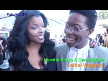 Keesha Sharp & Dante Brown of 'Lethal Weapon' on FOX
