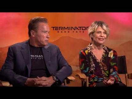 Arnold Schwarzenegger & Linda Hamilton Terminator: Dark Fate