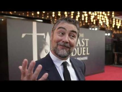 """The Last Duel"" UK Premiere - Nathaniel Parker - Sir Robert..."