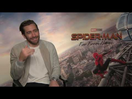 Jake Gyllenhaal is Quentin Beck : Mysterio
