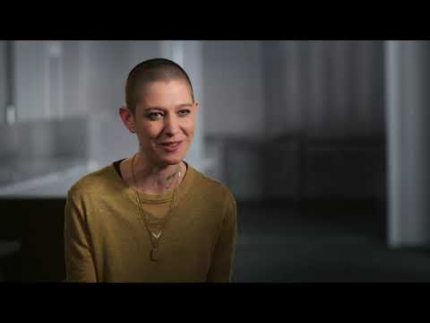 "John Wick 3 JW3 with  ""The Adjudicator""  Asia Kate Dillon"