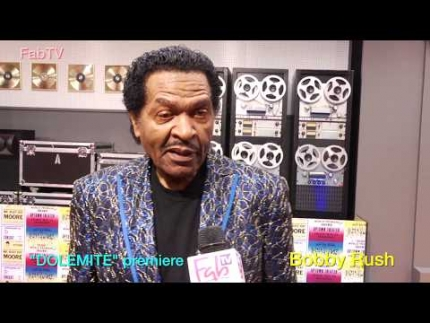 "Bobby Rush bringin\' it at the ""Dolemite""  world premiere"