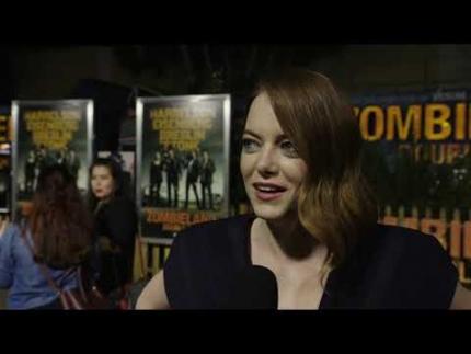 """""""Zombieland"""" premiere with  Emma Stone"""