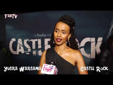 "Gorgeous \'Yusra Warsama\' arrives at the ""Castle Rock"" season 2 premiere"