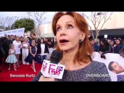 """Swoosie Kurtz @ """"OVERBOARD"""" premiere on FabTV"""