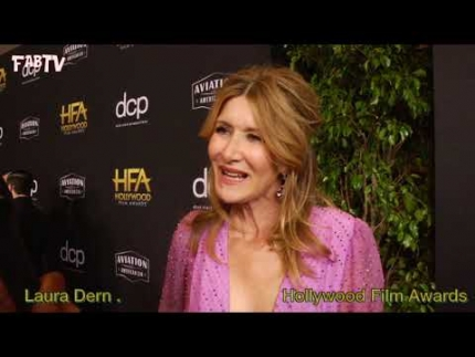 "Laura Dern at the ""Hollywood Film Awards"" 2019"