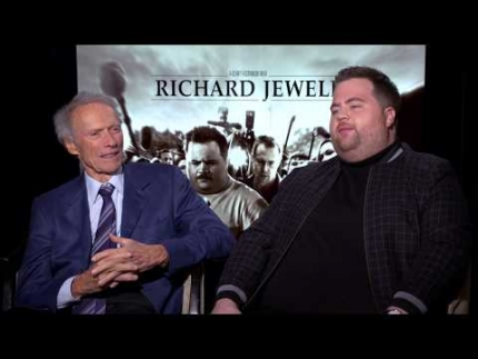 Clint Eastwood and Paul Walter Hauser as they discuss their film...