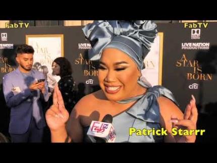 "Patrick Starrr at ""A Star is Born"" premiere"