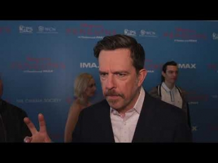 Disney Natures Penguin Ed Helms premiere