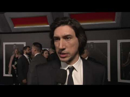 "Adam Driver at the STAR WARS: ""THE RISE OF SKYWALKER""..."