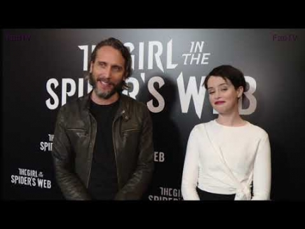 "Fede Alvarez & Claire Foy talk ""The Girl in the Spiders Web"""