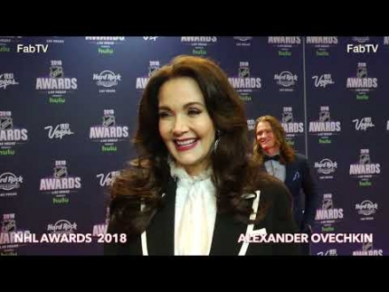The Original  Wonder Woman  Lynda Carter at the 2018 NHL Awards