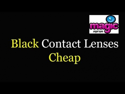 Black Contact Lenses Cheap