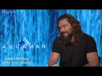 "Jason Momoa is ""AGUAMAN"" believes in an Atlantis"