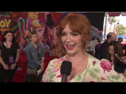 """TOY STORY 4"" with   CHRISTINA HENDRICKS"