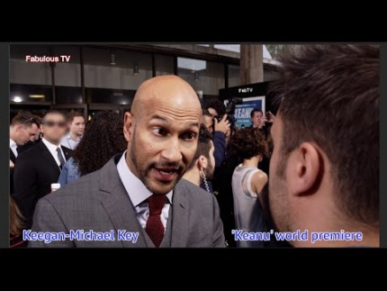 Keegan-Michael Key at the KEANU premiere Fabulous TV