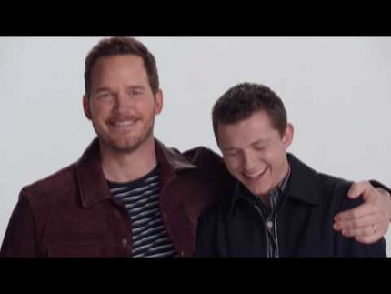 "Family Story for Disney's ""ONWARD"" Chris Pratt & Tom Holland"