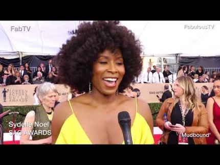 Sydelle Noel talks about 'BLACK PANTHER' at 2018 SAG AWARDS on  FabTV