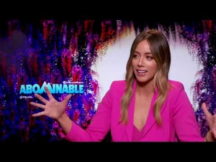 """Chloe Bennet reveals """"Abominable"""""""