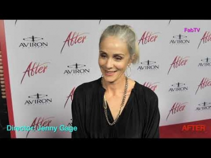 Director: Jenny Gage arrives at the  AFTER  premiere