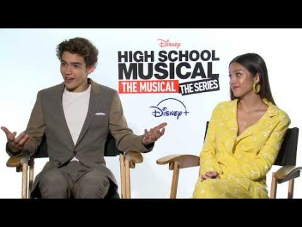 "Joshua Bassett, Olivia Rodrigo ""High School Musical the..."