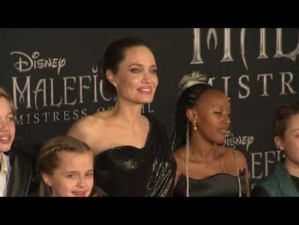 "Red carpet arrivals ""Maleficent: Mistress of Evil"" World..."