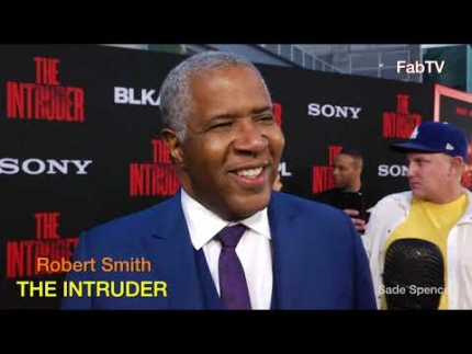 "Robert Smith  at ""THE INTRUDER""  premiere"