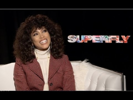 "Actress Lex Scott Davis  details ""SuperFly"""