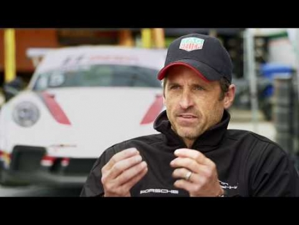 "Patrick Dempsey ""The Art of Racing in the Rain"""