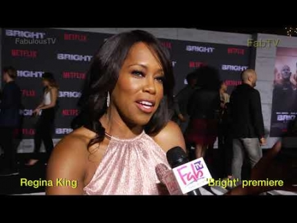 Regina King at Netflix's 'BRIGHT' on FabTV