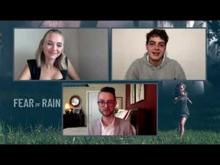 "Madison Iseman & Israel Broussard star in ""Fear Of Rain"""