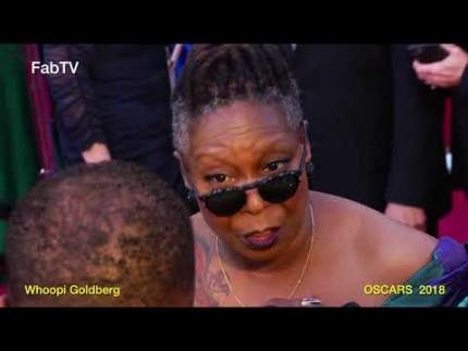 Whoopi Goldberg at 'Oscars 2018' Red carpet