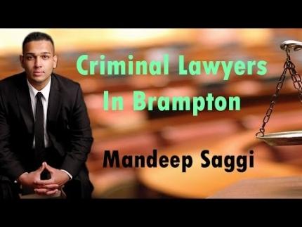Criminal Lawyers In Brampton - Saggi Law Firm | Call Us...